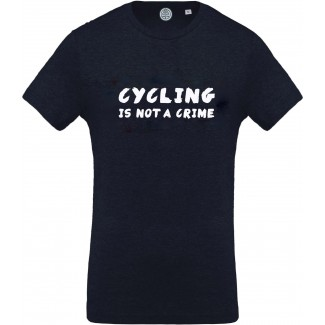 Cycling is not a crime tee