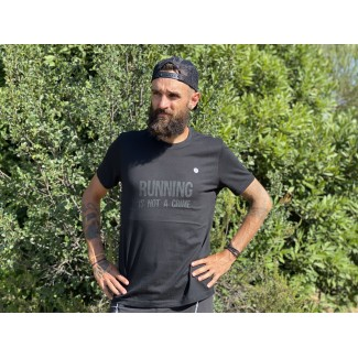 Running is not a crime tee shirt en coton bio NEW