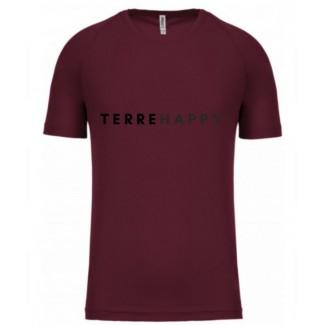 Terre happy tee shirt technique