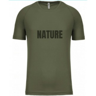 Nature tee shirt technique
