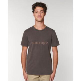Tee shirt sauvage en coton bio