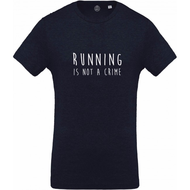 Running is not a crime tee