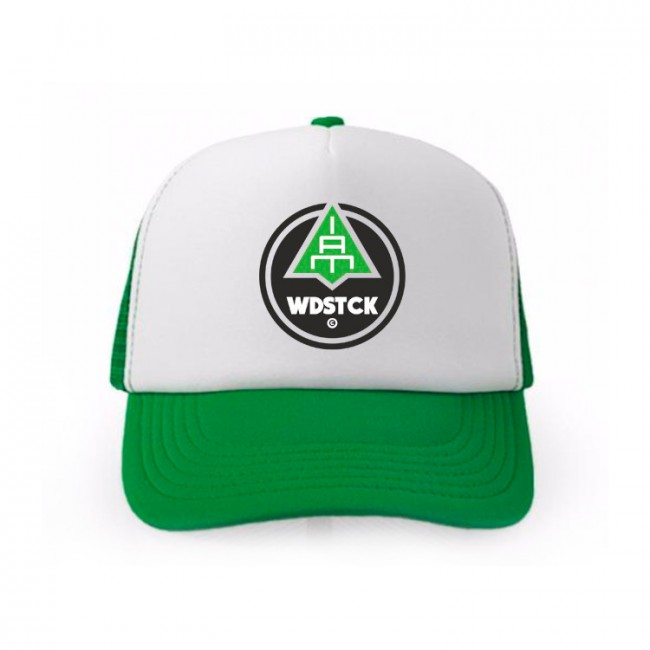 Trucker logo green