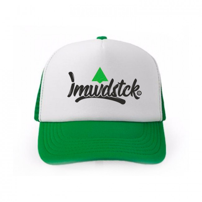 Trucker iamwoodstuck green